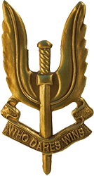 Cap Badge of the Special Air Sercies