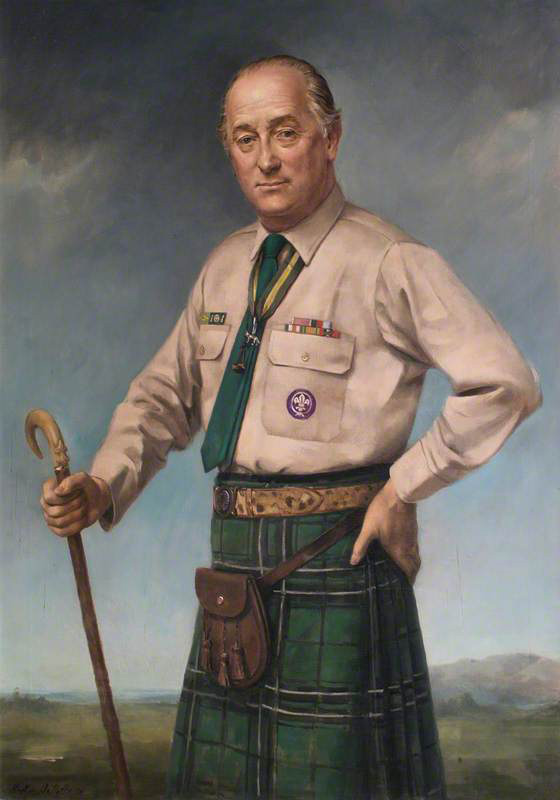 Lord Charles Maclean, Chief Scout of the United Kingdom and Commonwealth of Great Britian
